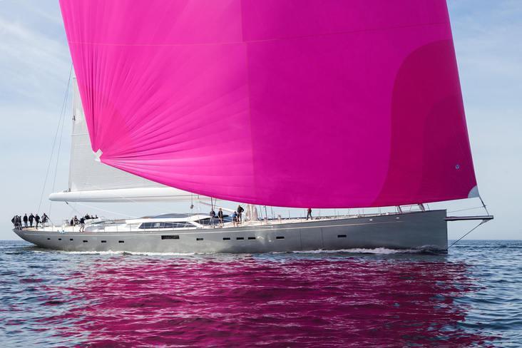 Pink Gin, vainqueur des World Superyachts Awards 2018