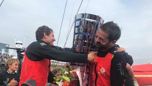 Enorme ! Les Français du Défi chinois Dongfeng vainqueurs de la Volvo Ocean Race lors de la dernière étape !