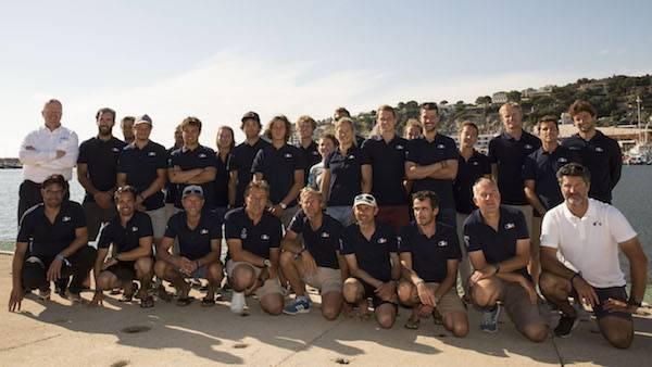 La délégation française à Marseille