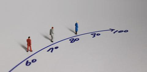 A quel âge a-t-on la santé d'un adulte « moyen » de 65 ans ? La réponse est bien évidemment très différente selon le pays ou la région.