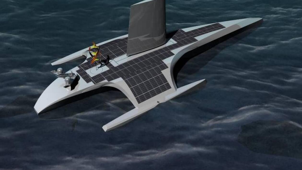 Quinze mètres de long pour cinq tonnes sont les caractéristiques principales de ce prototype qui devrait voir le jour au printemps 2020.
