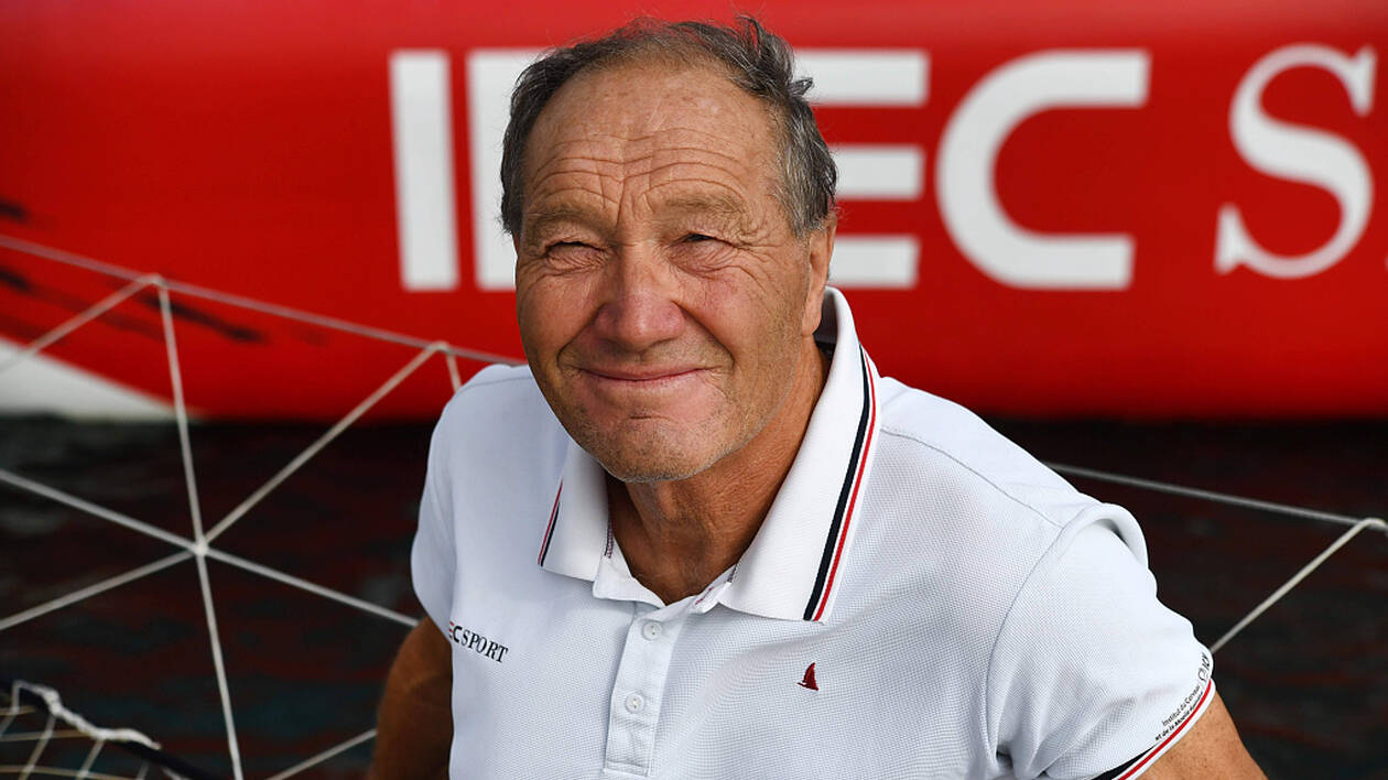 Le skipper Francis Joyon, 63 ans, s'est offert le record en solitaire de La Mauricienne