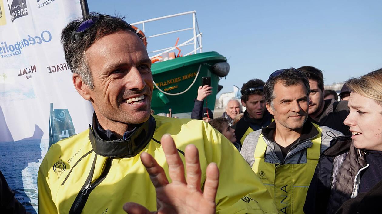 Franck Cammas et Charles Caudrelier ont remporté la Brest Atlantiques.