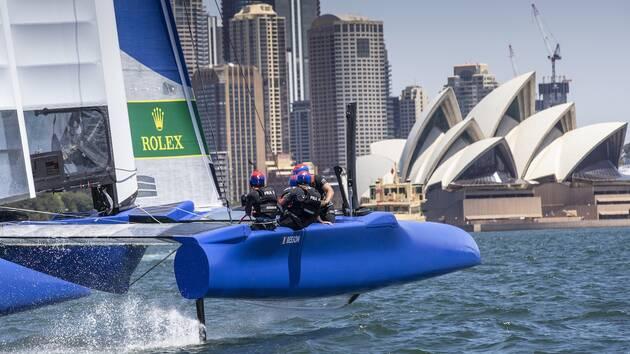 C'est dans 40 jours à Sydney que le nouveau team France entamera sa saison 2 en SailGP.