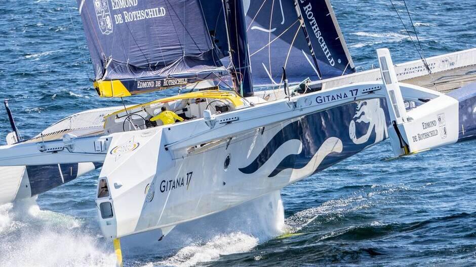 Gitana 17, le bateau vainqueur