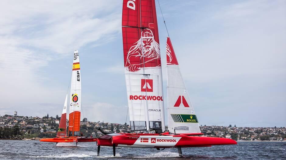 Deux nouvelles équipes, danoise et espagnole, sont venues compléter la flotte du Sail GP 2020, qui passe de 6 à 7 bateaux après le retrait des Chinois.