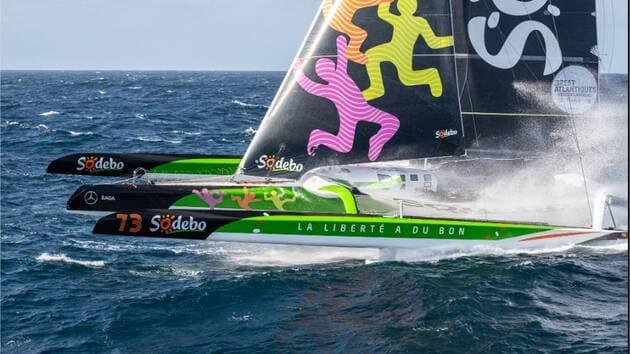 Sodebo Ultim 3 va recevoir tous les attributs des bateaux volants : plans porteurs et carénage arrière en plus des foils.