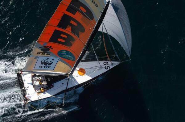 PRB Le bateau de Kevin Escoffier sur ce Vendée Globe.