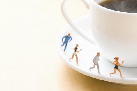 Prendre un café serré une demi-heure avant l'exercice permet d'augmenter la combustion des graisses (Visuel Adobe Stock 15889665)