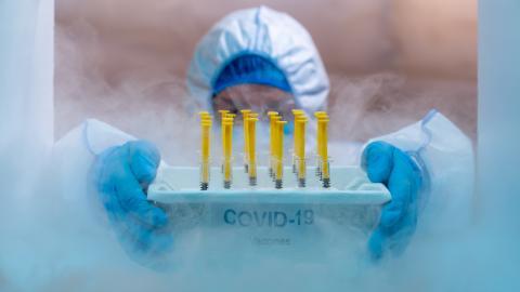 Le candidat vaccin permet en effet de bloquer le coronavirus SARS-CoV-2,  ses variants, ainsi que d'autres coronavirus (Visuel Adobe Stock 399351969).