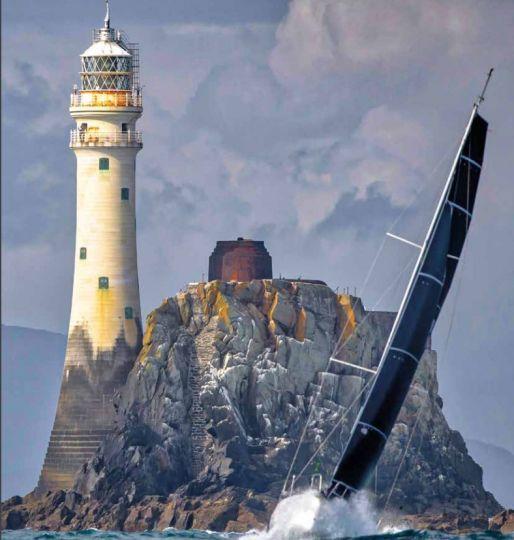 Le mythique rocher du Fastnet