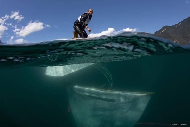 Une image contenant extérieur, sport aquatique  Description générée automatiquement