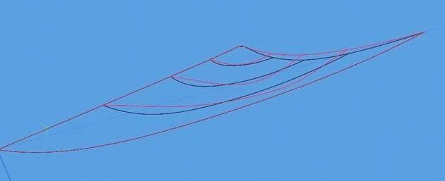 Une image contenant ciel, extérieur, grue  Description générée automatiquement