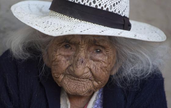 Julia Flores Colque, 117 ans