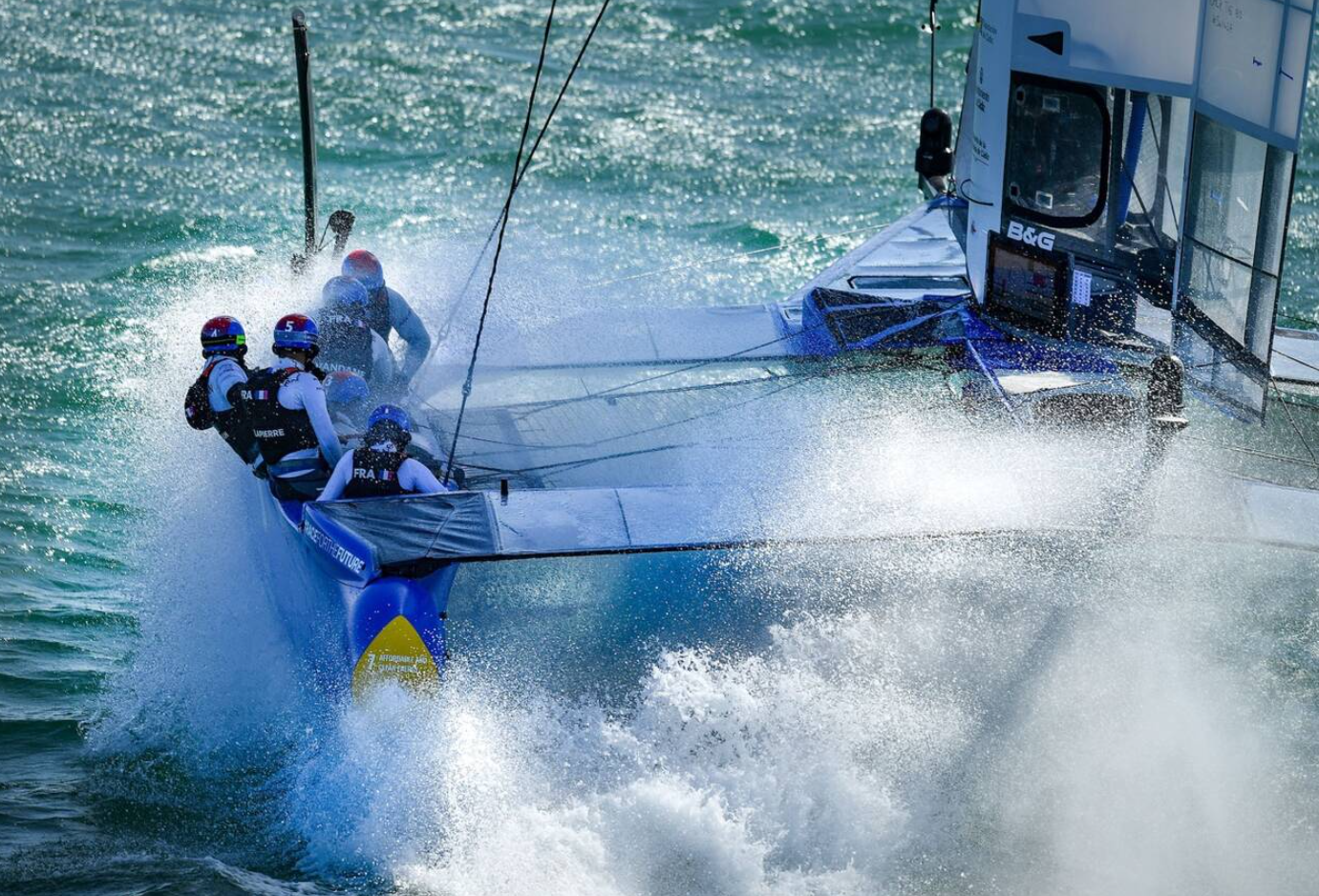 Une image contenant eau, extérieur, sport, sport aquatique  Description générée automatiquement