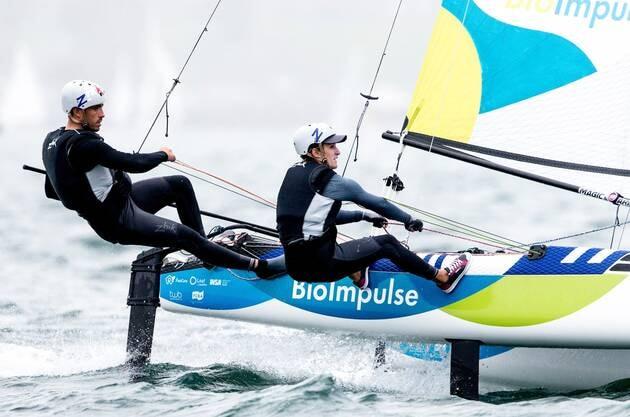 Une image contenant extérieur, eau, homme, sport  Description générée automatiquement